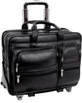 McKlein Clinton 17 Detachable Wheeled Laptop Case