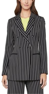 BCBGMAXAZRIA Striped Blazer