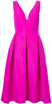 Lela Rose polka dot dress - women - Silk - 6