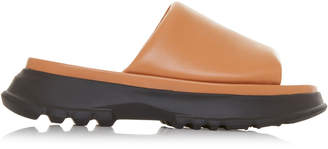Givenchy Chunky Leather Slides