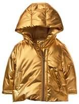 Crazy 8 Metallic Puffer Jacket