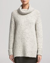 Whistles Sweater - Roll Neck Textured Oversized