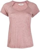 Etoile Isabel Marant melange cap-sleeve T-shirt