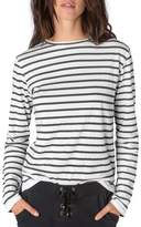 Rag Doll Women's Ragdoll Stripe Long Sleeve Tee