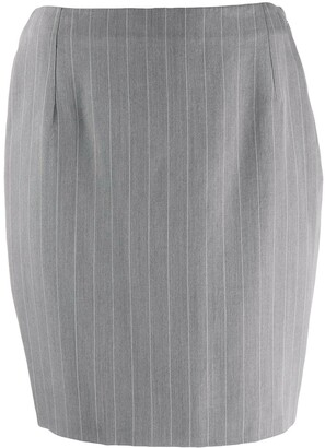 Versace Pre-Owned '1990s Straight-Fit Skirt