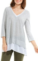 Women's Two By Vince Camuto Mixed Media Tunic