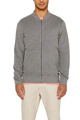 Esprit edc by Men's 089cc2j012 Sweatshirt, (Medium Grey 035), Large