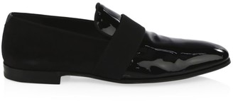 Salvatore Ferragamo Bryden Patent Leather Moccasins