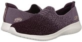 Skechers Ultra Flex-Cozy-Day (Plum) Women's Shoes