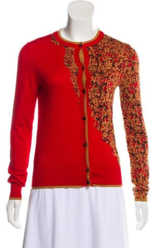 Sophie Theallet Cashmere & Silk Cardigan multicolor Cashmere & Silk Cardigan