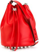 Alexander Wang 'Alpha' bucket crossbody bag - women - Leather - One Size
