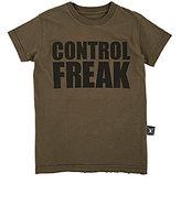 "Nununu CONTROL FREAK"" T-SHIRT-GREEN SIZE NA"