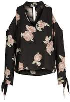 Cupcakes And Cashmere Jon Cold Shoulder Blouse