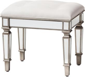 Design Studios Marielle Ottoman Vanity Bench