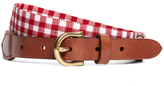 Brooks Brothers Gingham Stretch Belt