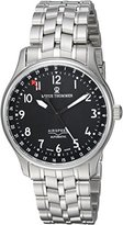 Revue Thommen Men's 16005-2137 Airspeed Classic Analog Display Swiss Automatic Silver Watch