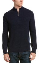 Brooks Brothers Mock Neck Cashmere Sweater.