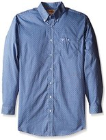 Wrangler Men's Tall Size 20x Long Sleeve Button Woven Shirt