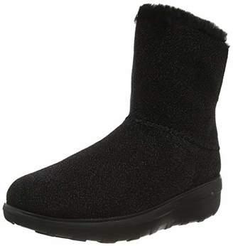 FitFlop Women's Mukluk III Metallic Ankle Boots,8 (42 EU)