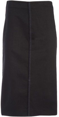 Fendi Midi Pencil Skirt