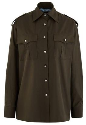 Prada Military shirt