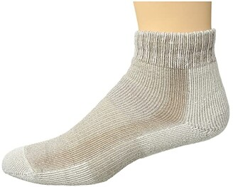 Thorlos Light Hiking Mini Crew Single Pair (Khaki) Women's Crew Cut Socks Shoes
