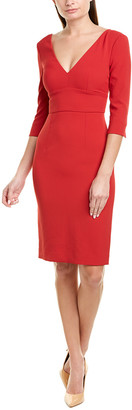 Pinko Plunging Sheath Dress