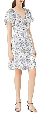 Rebecca Taylor Esmee Floral Print Dress