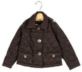 Burberry Girls' Quilted Lightweight Jacket