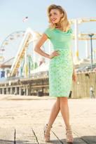 Shabby Apple Lime Ricki Skirt
