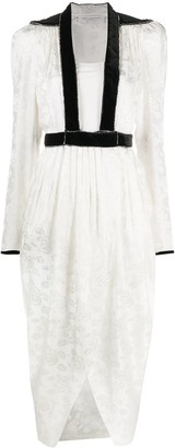 Philosophy di Lorenzo Serafini Contrast Trim Dress