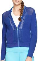 Lauren Ralph Lauren Mesh-Paneled Cotton Jacket