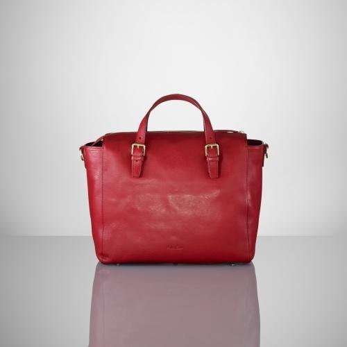 Ralph Lauren Embossed RL Cross-Body Bag