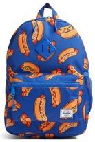 Herschel Boy's Herschell Supply Co. Heritage Hotdog Print Backpack - Blue