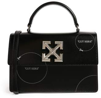 Off-White Off White Leather Jitney 1.4 Shoulder Bag