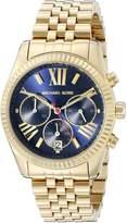 Michael Kors MK6206 Women's Lexington Wrist Watch, Dial
