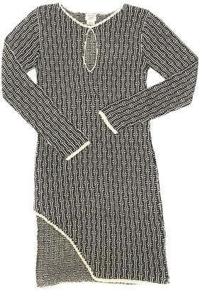 Graciela Huam Delika Asymmetric Dress - Black/White