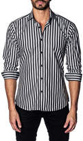 Jared Lang Stripe Slim Fit Shirt
