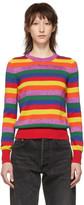 Moncler Multicolor Stripe Knit Sweater
