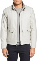Kenneth Cole New York Men's Wool Blend Bomber Jacket