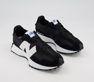 New Balance 327 Trainers Black White