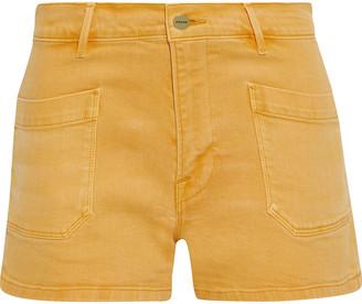 Frame Le Bardot Denim Shorts