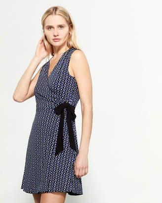 Nanette Lepore Sleeveless Reversible Wrap Dress