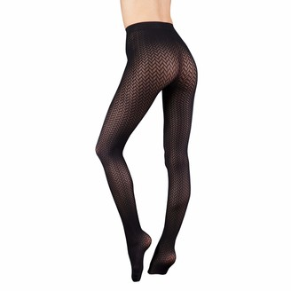 Couture Womens/Ladies Ultimates Tights (1 Pair) (Large) (Barely Black - Catherine)