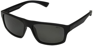 Zeal Optics Durango (Matte Black/Polarized Dark Grey Lens) Fashion Sunglasses