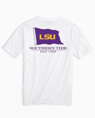 Southern Tide LSU Tigers Flag Short Sleeve T-Shirt