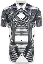 Les Hommes graphic print shirt