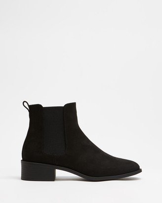 Spurr Women's Black Chelsea Boots - Zahara Ankle Boots - Size 5 at The Iconic