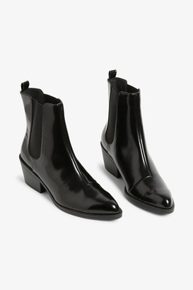 Monki Pointed chelsea boots