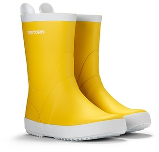 Tretorn Yellow Wings Rain Boots - 37 | yellow - Yellow/Yellow